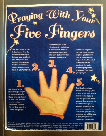 Five Finger Prayer