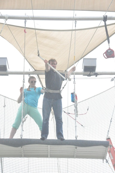 Trapeze Stephen first