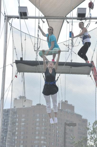Trapeze - letting go